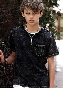 澳大利亚13岁男孩威廉·弗兰克林·米勒高清图片