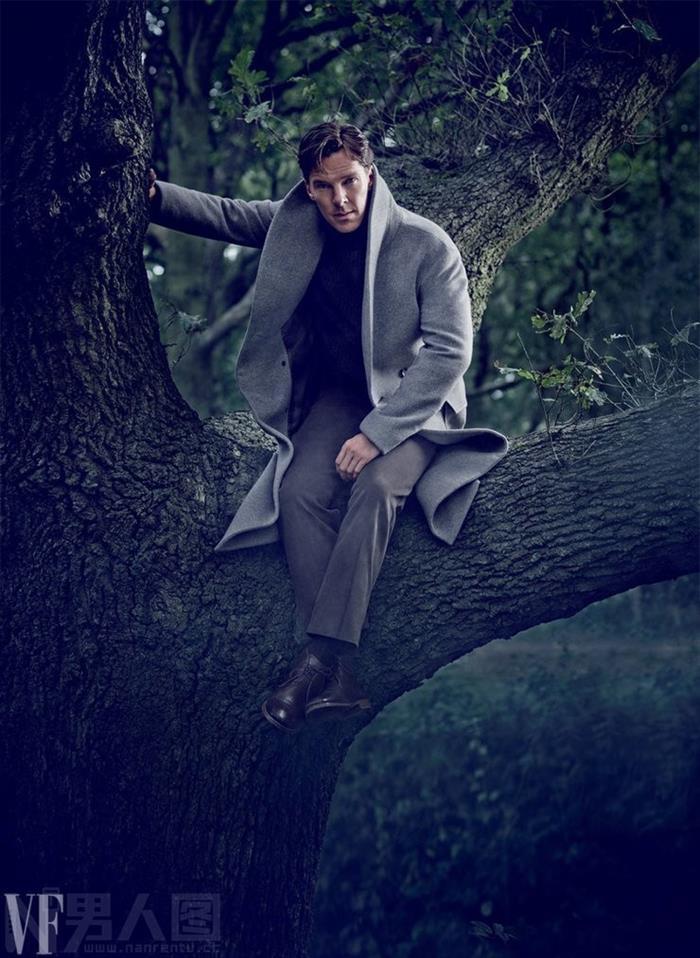 演技爆棚的典型英国绅士本尼迪克特.康伯巴奇写真