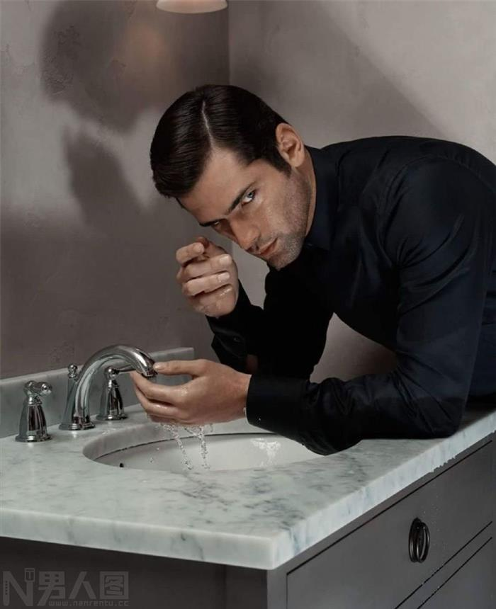 来自美国的世界十大男模之一肖恩奥普瑞高清图片