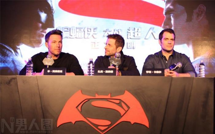 全球最性感男人48岁本阿弗莱克蝙蝠侠发布会图片
