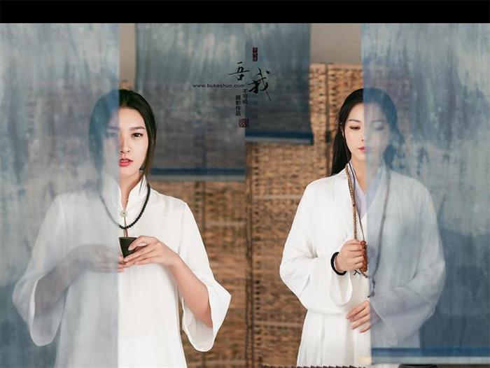 """中国风摄影作品 用摄影来诠释""""吾与我""""的关系"""