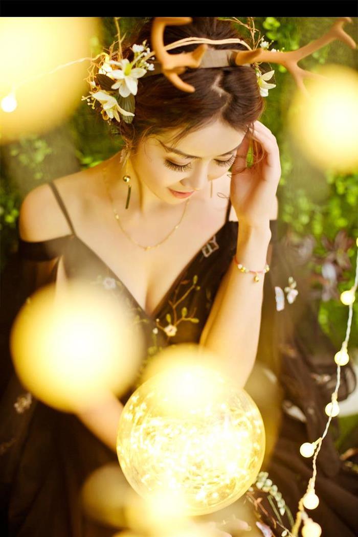 气质美女黑白写真摄影 彰显独特魅力