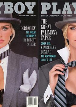 《花花公子》7位经典女郎重拍封面 30年后的容貌比当年更性感