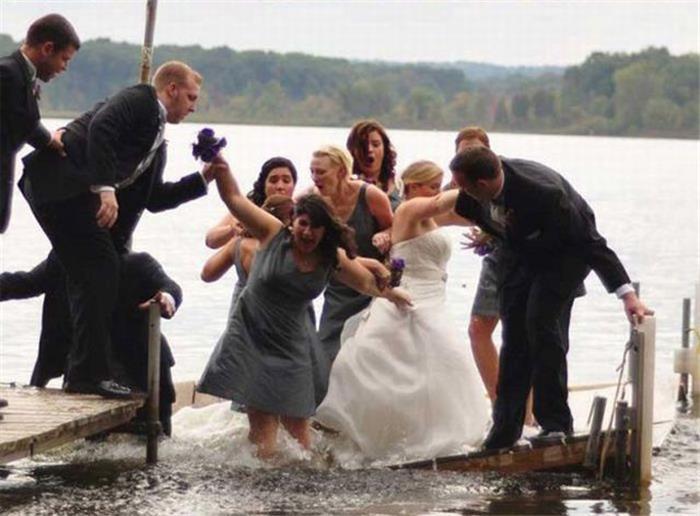 笑到疯的超囧婚礼现场