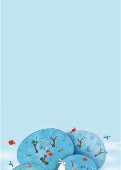 卡通插画海报背景 高清壁纸