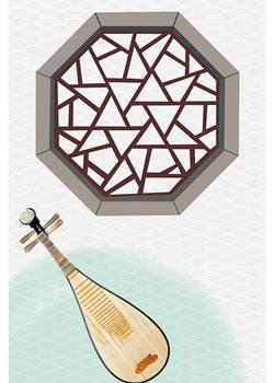 水墨中国风古风背景 高清壁纸设计