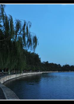 摄影图片 夜景 夜色阑珊的颐和园