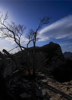 摄影图片看箭扣美丽风景