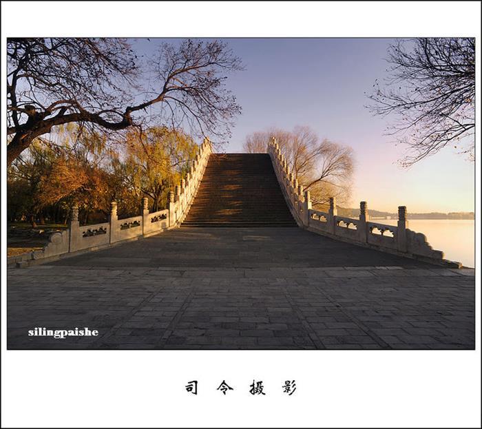 摄影图片今早去拍玉带桥