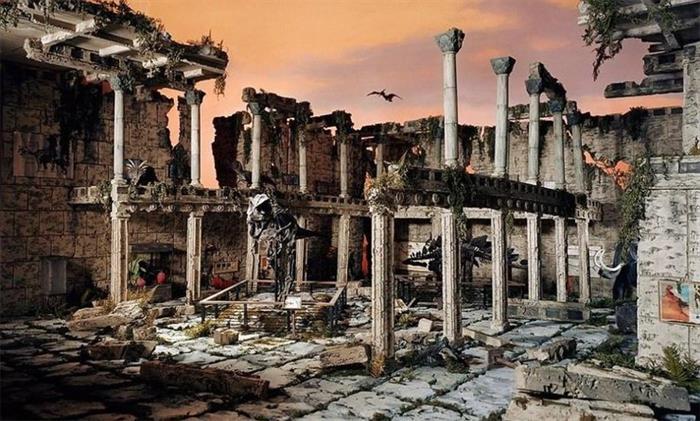 艺术家制作多个微缩场景展现世界末日