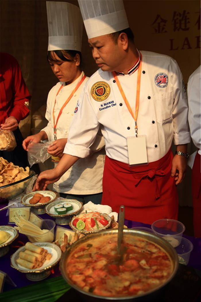 摄影图片 国际首届丰盛的美食节