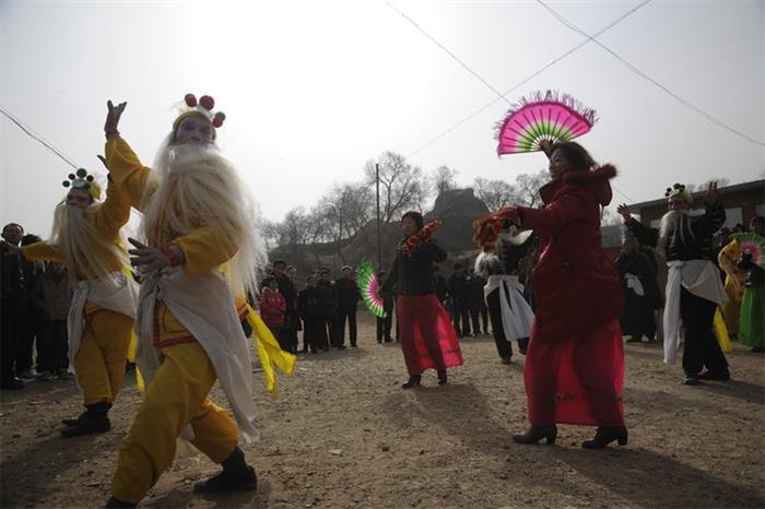 摄影图片 晋北快乐的春节行!