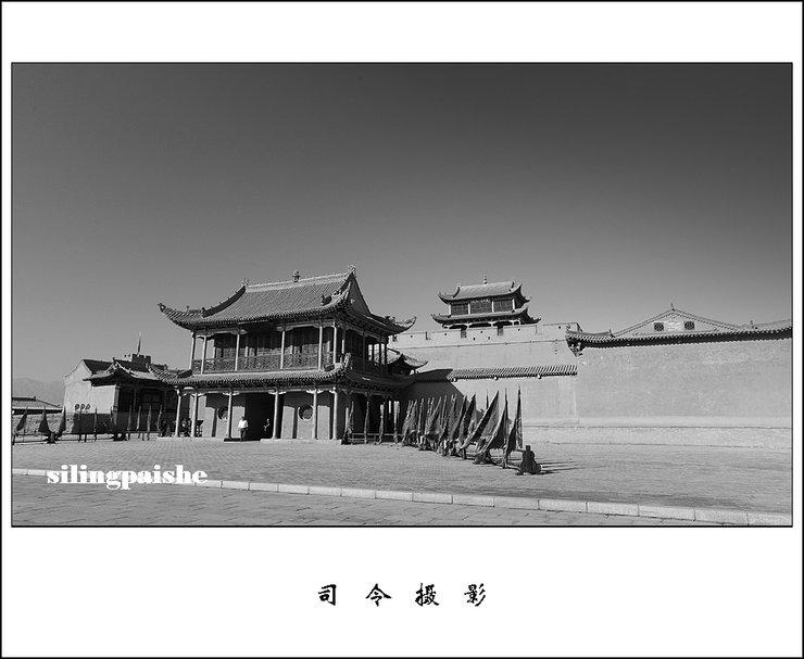 摄影图片 西部掠影——云雾迷茫的嘉峪关(1)