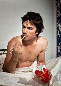 美国男模特伊恩·萨默海尔德成熟帅气个人写真照