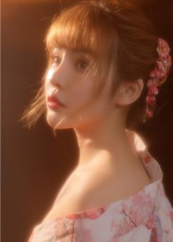 日韩美女半裸性感和服美女朦胧唯美艺术写真合集