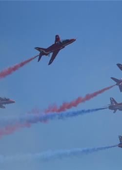 英皇家空军表演队中国首秀 亮相珠海航展