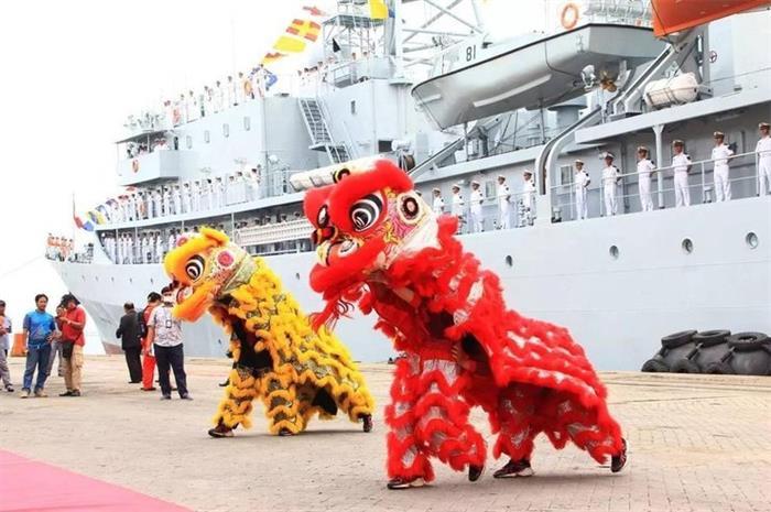 海军学员又出国访问了:国际军种确实霸气