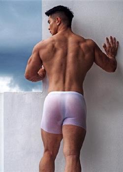 大屁股翘臀肌肉帅哥攻受bl写真图片