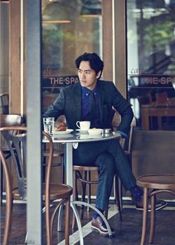 韩国男演员李振旭服装品牌TNGT秋冬写真