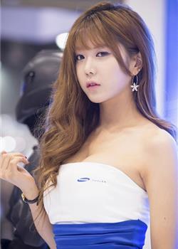 韩国西西人体美女车模许允美摄影图片