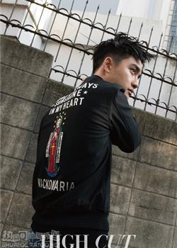 韩国男团EXO主唱都暻秀时尚杂志写真